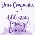 Dear Companies – Addressing Privacy Concerns Amongst Sex Writers